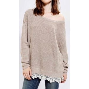 Urban Outfitters Pins & Needles Lace Oversized XS
